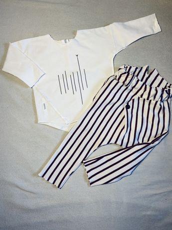 Spodnie long booso baby bluzka minikid