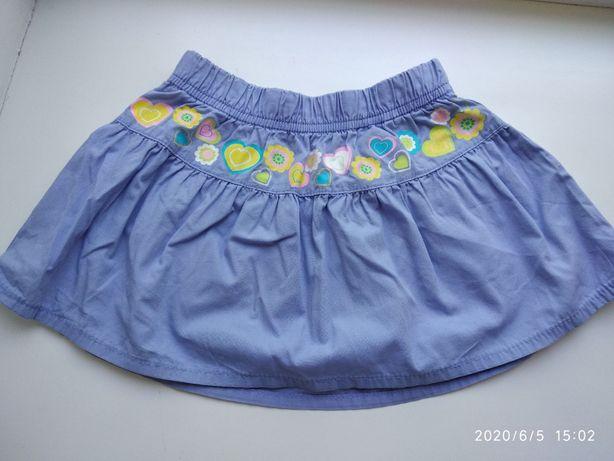 В отличном состоянии детская юбка Gloria Jeans