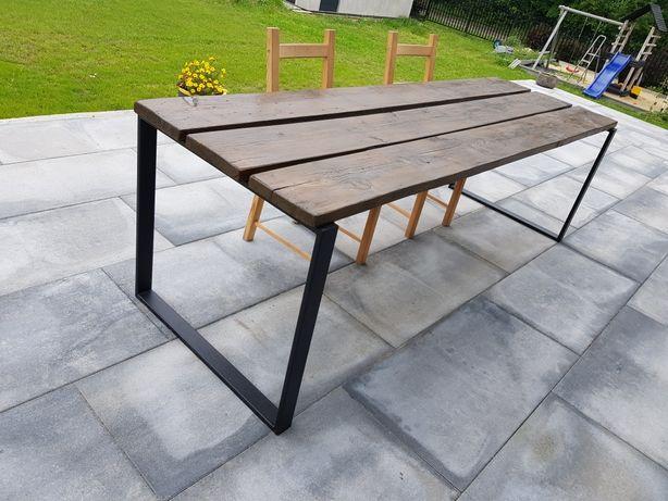 Stół loftowy drewno 4cm 240x77cm