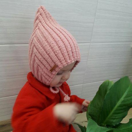 Весенняя шапочка шапка эльф эльфа гномик