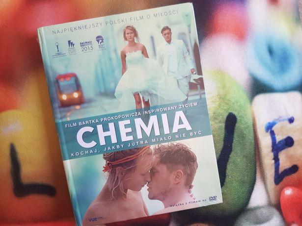 NOWY! Film Chemia Książka z filmem na dvd