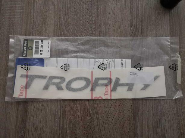 """Lettering """"Trophy"""" Renault Megane RS"""