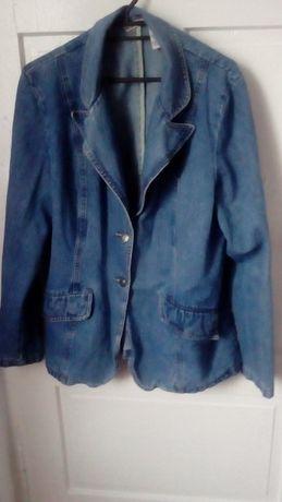 Kurteczka jeansowa XL.