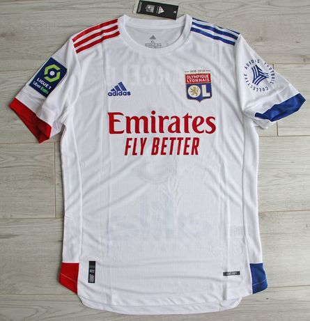 OLYMPIQUE LYON Home 20/21 Adidas Authentic, #6 Marcelo, roz. XL