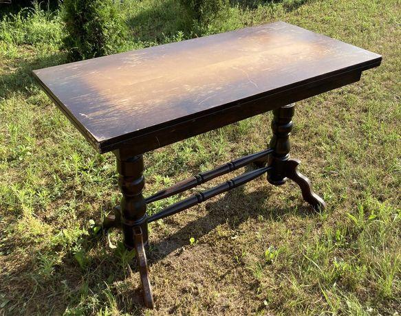 Stół ława PRL, ławostół