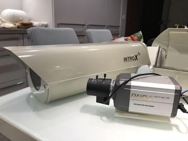 Dwie Kamery przemysłowe INTROX DNR CCD