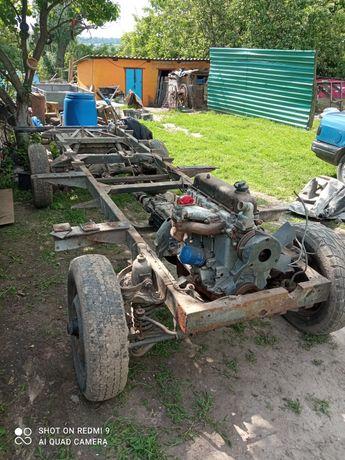 Рама,мотор,коробка Polmo FSR