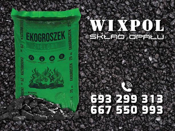 EKOgroszek Hurtownia Opału WIXPOL, Transport HDS, WINDA