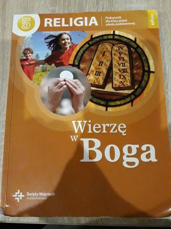 Książka do religii do klasy 5