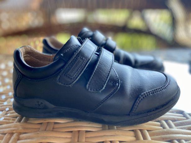 Туфли кожаные фирменные biomecanics
