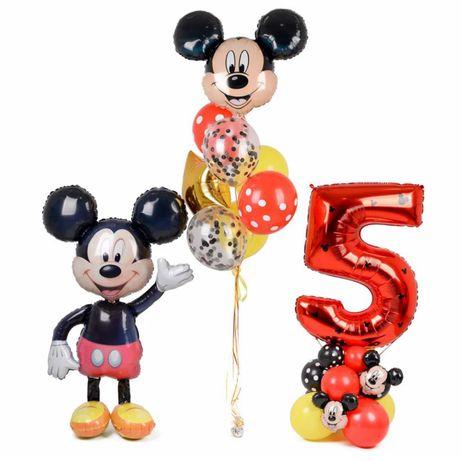 Цифра на подставке на День рождения , воздушные шары