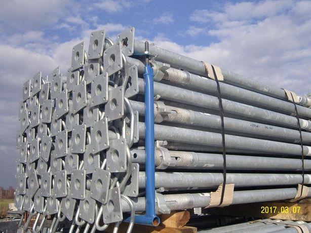 Szalunek stropowy zestaw na 100 m2 sprzedam podpory, dźwigary kmpl