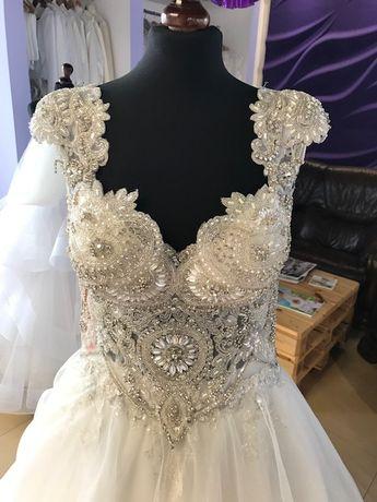 Suknia ślubna sukienka SVAROVSKY rozmiar 40 OKAZJA!!!