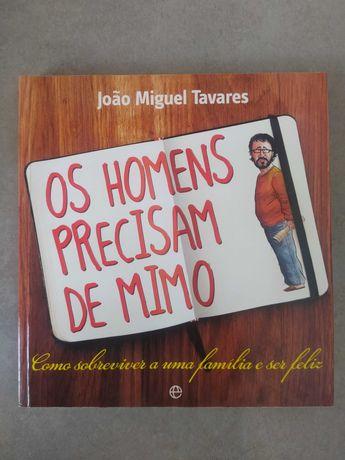 """Livro """"Os homens precisam de Mimos"""""""