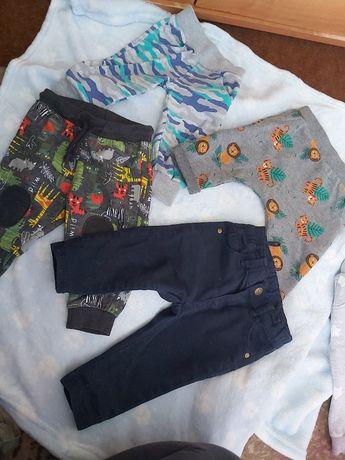 Spodnie 62/68 chlopiec zestaw