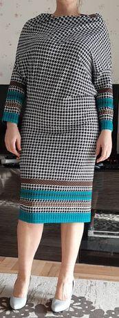 Elegancka sukienka super wygodna rozm 42/44 moze byc ciazowa