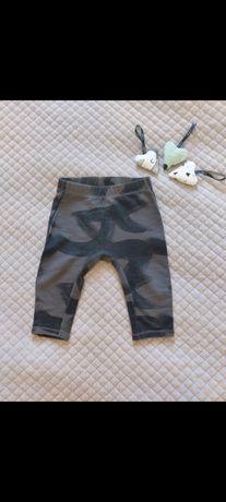 Spodnie mazane Zara
