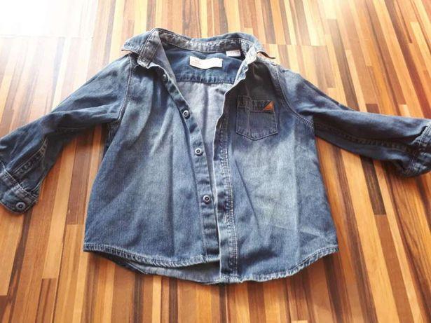Koszula jeansowa Zara Baby Boy rozm 86