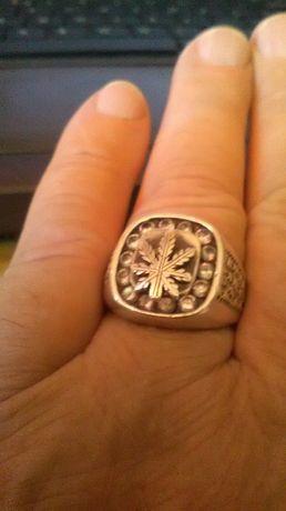 Sygnet stare srebra- srebro 925 antyk.