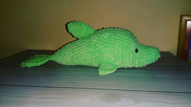 Дельфін плюшевий ручна робота