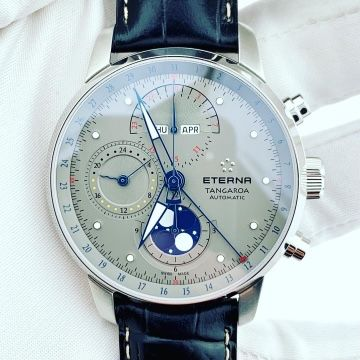 Eterna Tangaroa Moonphase Chronograph