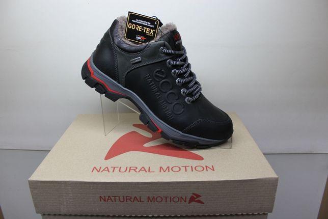 ECCO Natural Motion- зимние низкие ботинки- кроссовки на меху(2-1мех)