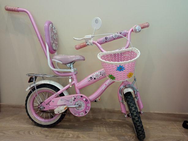 Велосипед с ручкой 12 дюймов