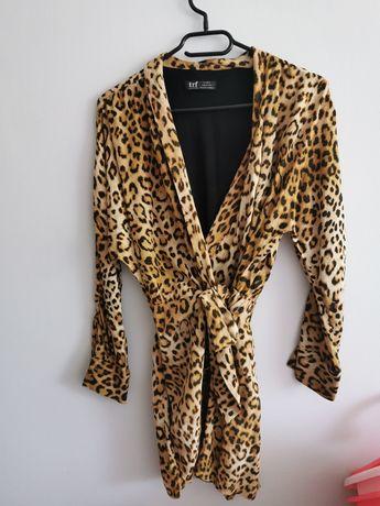 Kombinezon sukienka panterka Zara