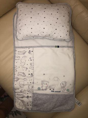 Набор конверт подушка одеяльце коляску / кроватку Caramell
