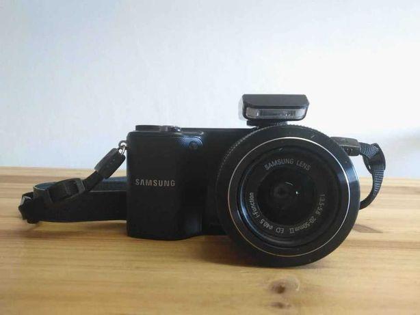 Máquina Fotográfica Samsung NX2000 + NX 20-50mm f/3.5-5.6 (Preto)