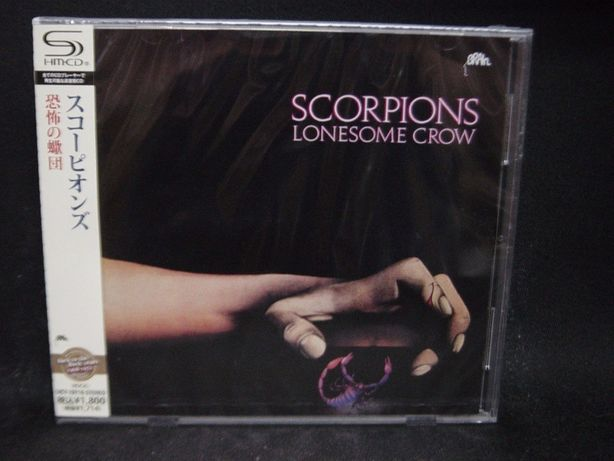 CD Scorpions-Lonesome Crow (Japan)