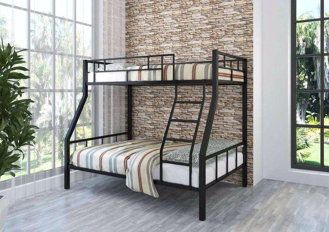 Кровать двухьярусная , двухспальная