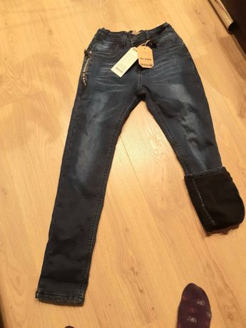 Продаються джинсові брюки для хлопчика 10-12 років