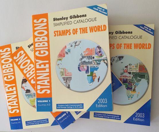 Conjunto de Catálogos Stanley Gibbons - Stamps Of The World