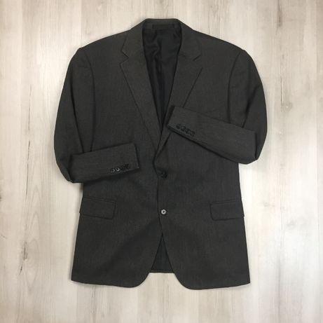 Оригинал! XXL Пиджак M&S темно-серый ххл 2XL темный костюм брюки