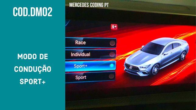 Codificação Mercedes modo Sport
