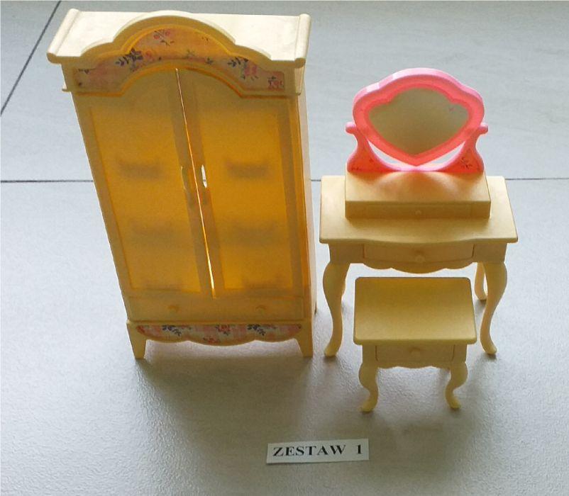 Zestaw mebli dla lelek - do łazienki i sypialni :) Zapraszam :) Kalety - image 1