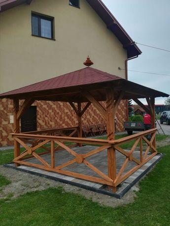 Altany, stoły, domki dla dzieci, huśtawki