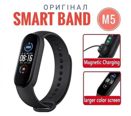 Фитнес-браслет M5 смарт часы трекер (Xiaomi Mi Band 5 аналог)