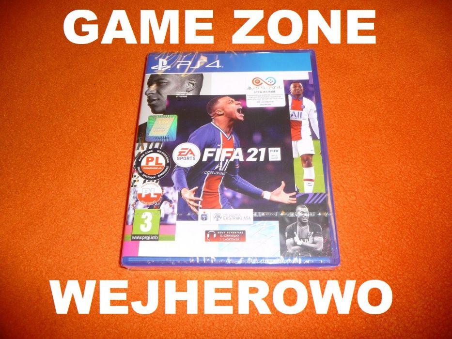 Fifa 21 PS4 + Slim + Pro = PŁYTA PL Wejherowo / FIFA 2021 Wejherowo - image 1