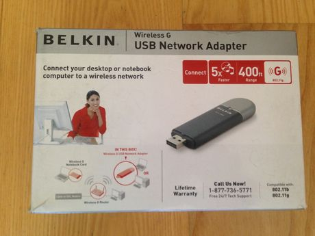 Belkin USB network adapter