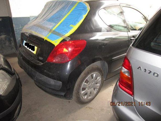 Peugeot 207 1.4 Hdi Van, ano 2008, 3 portas, peças