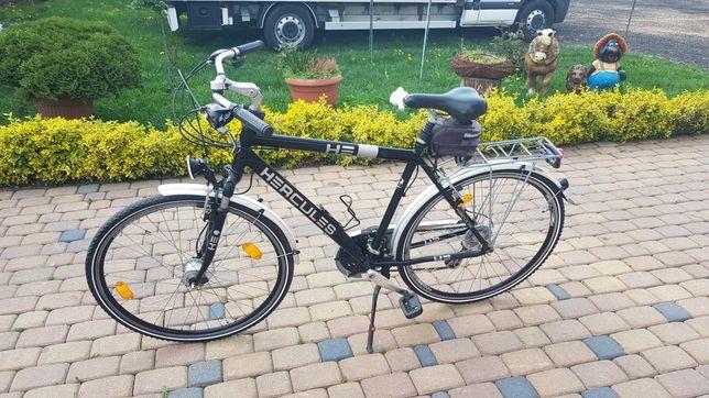 Rower meski 28 aluminium HERCULES German style trekingowy Treking