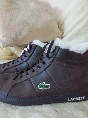 Lacoste оригинал, подростковые ботинки