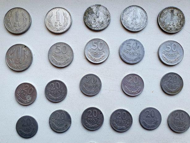 Старі Польські, Zlotych, Groszy. Ціна за всі монети.