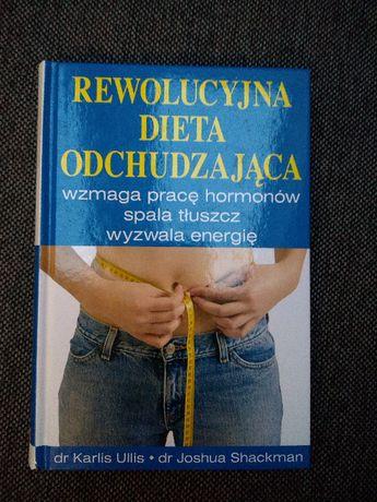 """Książka """"Rewolucyjna dieta odchudzająca"""" Ullis & Shackman WYSYŁKA"""