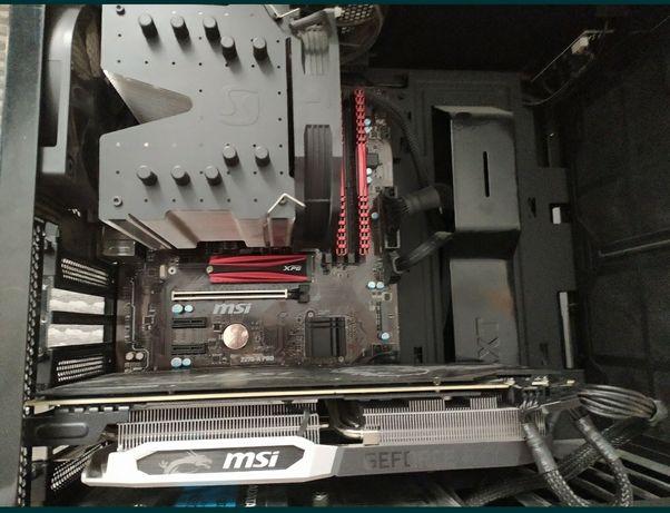 Komputer RTX 2070 I7-7700k 16GB RAM 256 SSD+2TB HDD