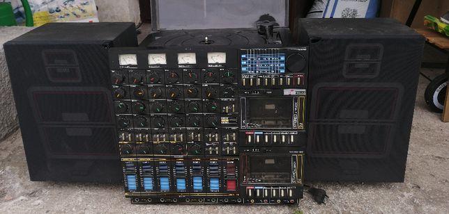 Amstrad Studio 100. Gramofon, magnetofon, radio. Studio nagrań '80