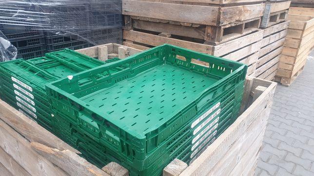 Sprzedam skrzynki plastikowe  składane 60×40