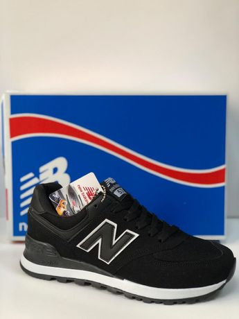 New Balance 574. Rozmiar 42. Kolor czarny. Wyprzedaż